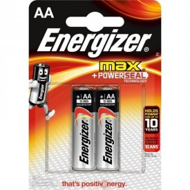 Батарейки Energizer MAX E91/AA 1,5V - 2 шт.