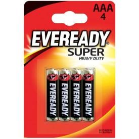 Батарейки EVEREADY SUPER R03 типа AAA - 4 шт.