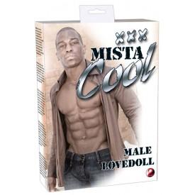 Кукла в виде брутального темнокожего мужчины Mista Cool