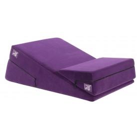 Фиолетовая подушка для секса из двух частей Liberator Wedge/Ramp Combo